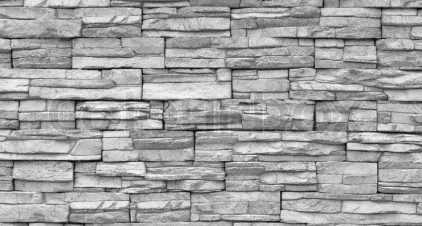 Decorative Brick Wall Grey