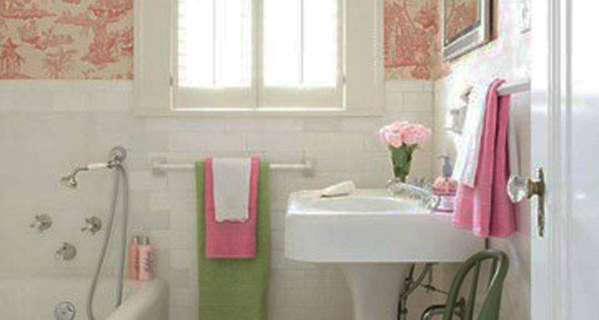 Decorative Ideas Small Bathrooms Home Decorating