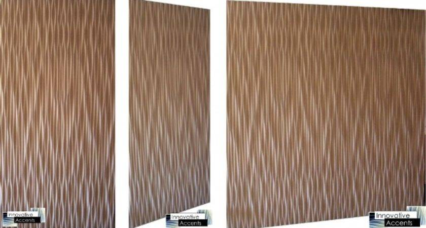 Decorative Wall Panel Wave Eclectic Panels