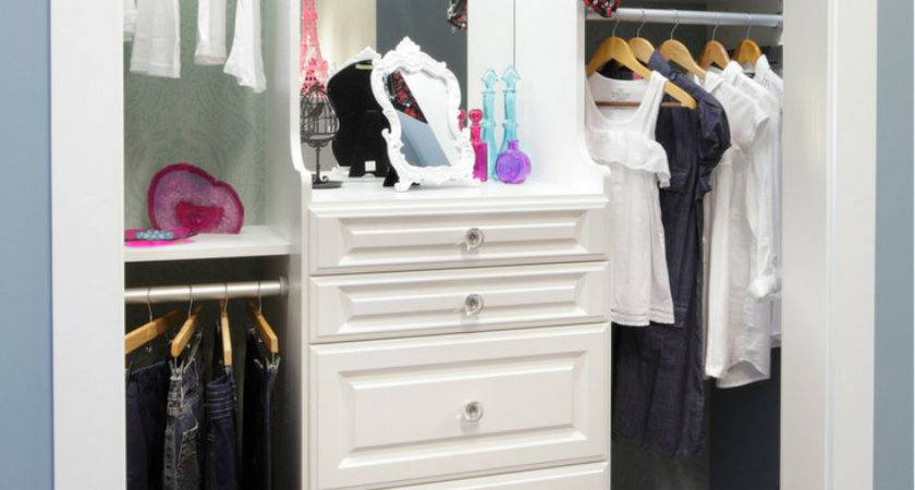 Design Safe Kids Bedroom Closet Organizer