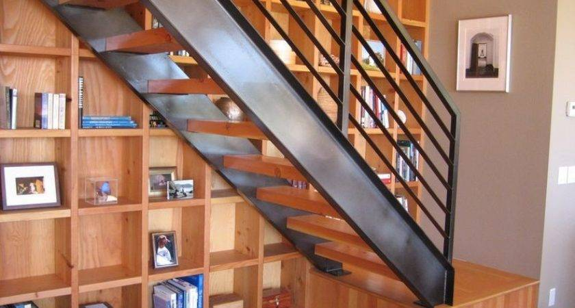 Designs Prove Staircases Bookshelves Make Great Duo