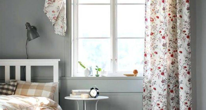 Different Ways Hang Curtains Floral Printed Curtain