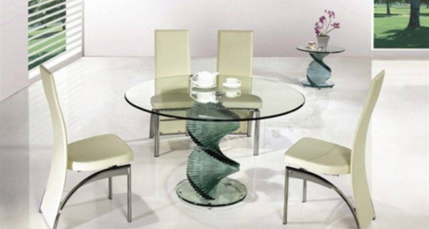 Dining Glass Table Chairs