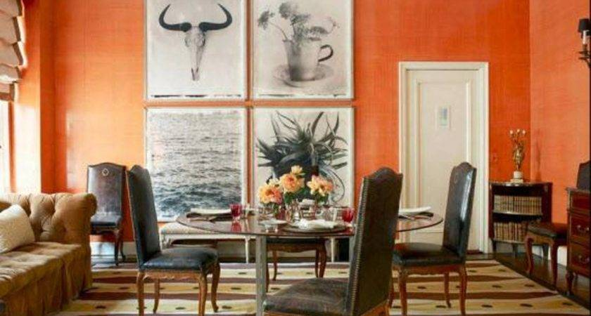Dining Room Awesome Small Apartment Painting