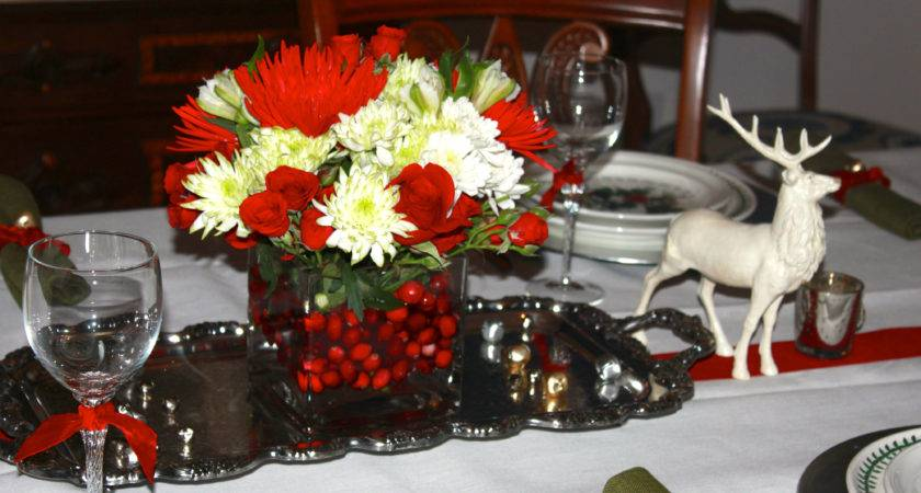Dining Room Table Decorating Ideas Christmas