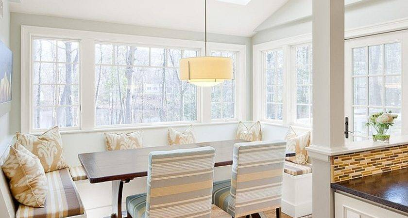 Dining Rooms Skylights Steal Show
