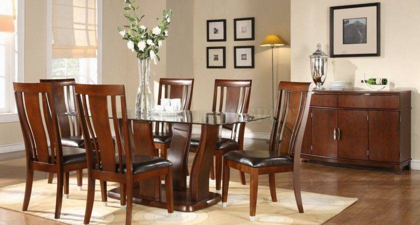 Dining Table Designs Wood Glass Top Modern
