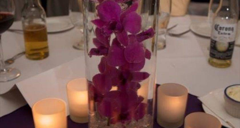 Diy Candle Centerpieces Wedding Reception Craft Projects