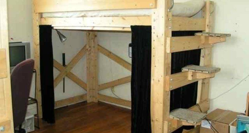 Diy Loft Bed Plans Quick Woodworking Projects