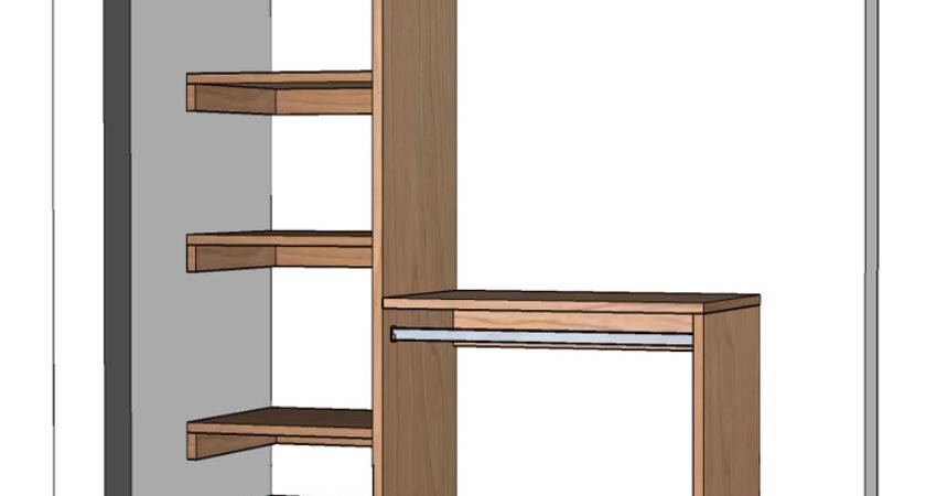 Diy Small Closet Organizer Plans