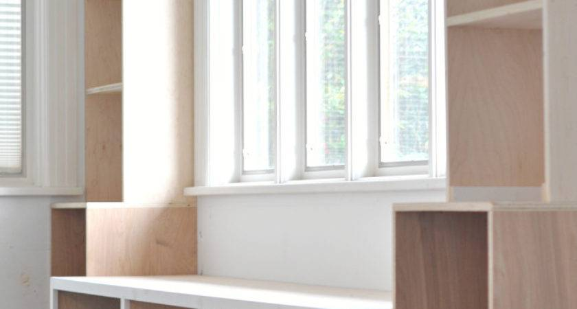 Diy Window Seat Built Ins Project Started House