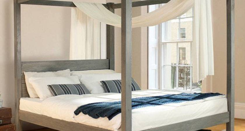 Double Four Poster Bed Frame Home Design