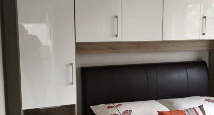 Double Wardrobe Over Bed Storage Units Excellent