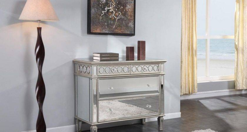 Drawer Mirrored Dresser Quality Furniture Bedroom Chest