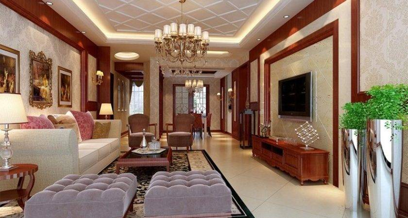 Drawing Room False Ceiling Design Living Enchanting
