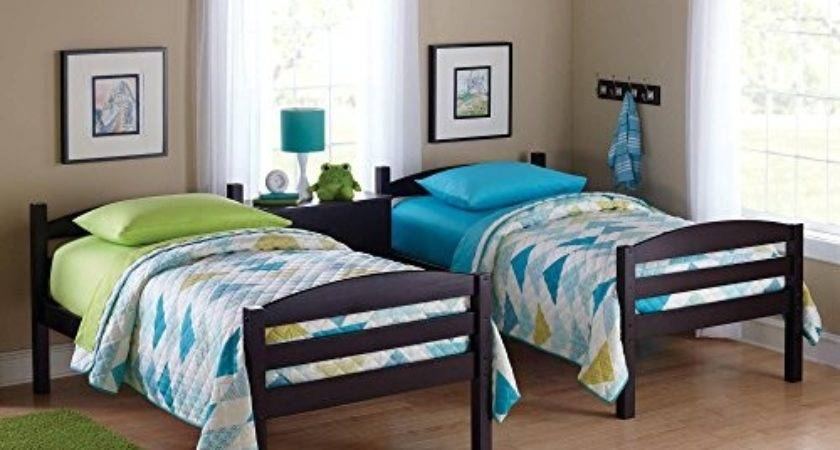 Easy Convert Twin Bed Practical Space Saver Wood