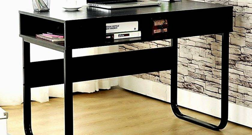 Ebs Modern Black Computer Desk Unique Design Finding