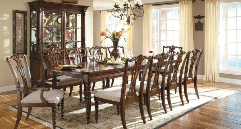 Elegant Dinner Party Dining Room Traditional Long