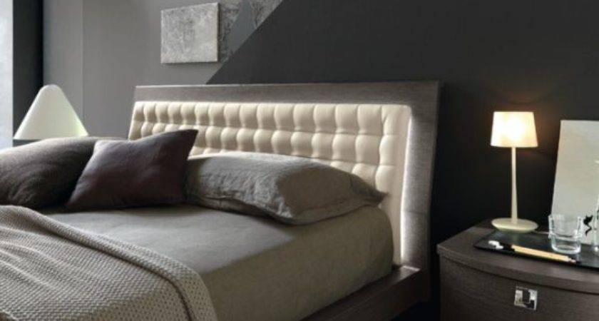 Elegant Leather Beds Stylish Bedrooms