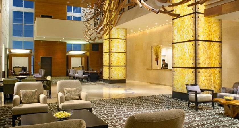 Elegant Lobby Boutique Hotel Interior Design Canyon