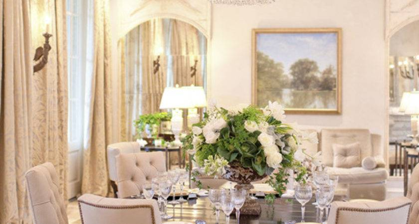 Elegant Understated Dining Room Like Sitting