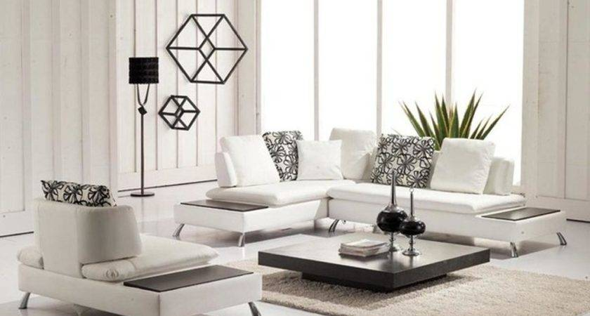 Enhancting White Small Leather Sectional Sofa Modern