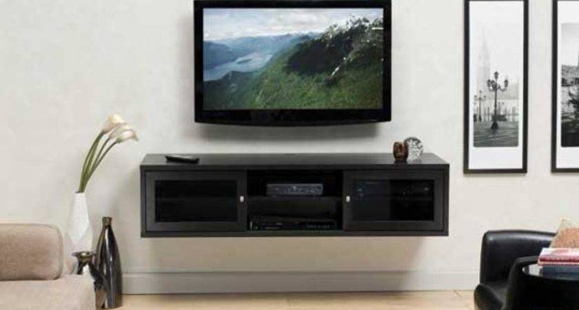 Euro Style Flat Panel Install Wall Mounted Cabinet