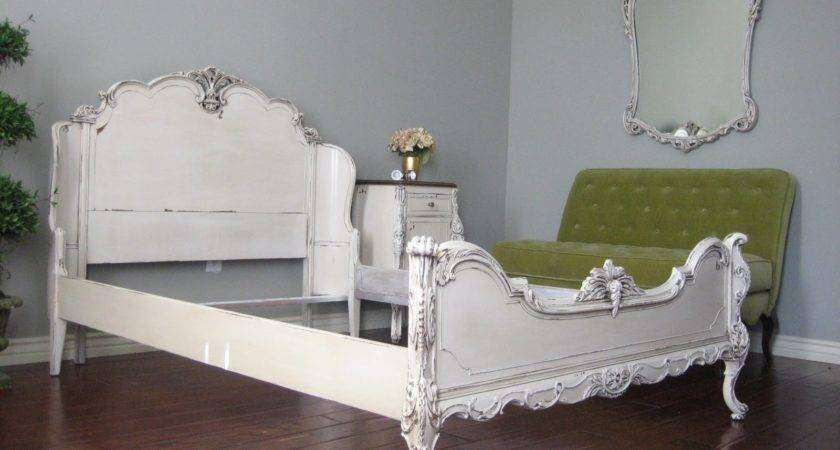 European Paint Finishes Ornate Bedroom Set