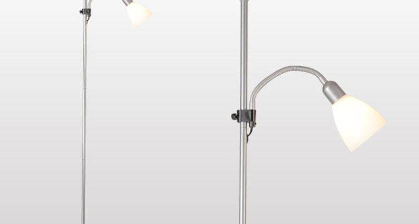 European Style Two Shades Floor Lamp Standing