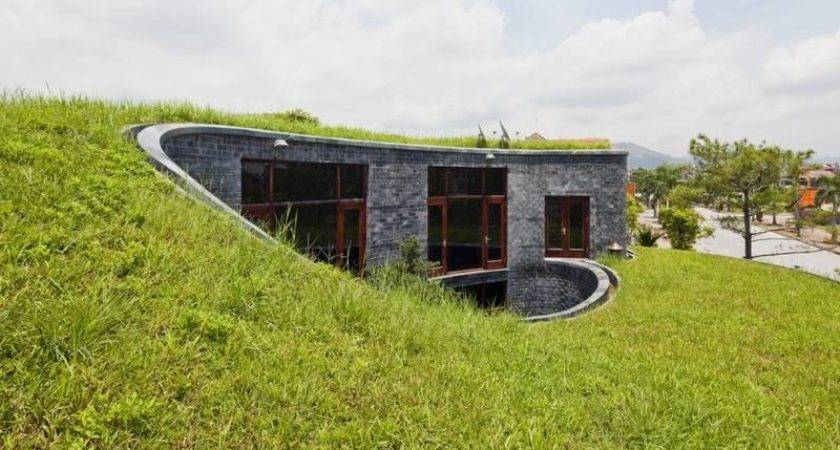 Exhilarating Natural House Rooted Earth Stone