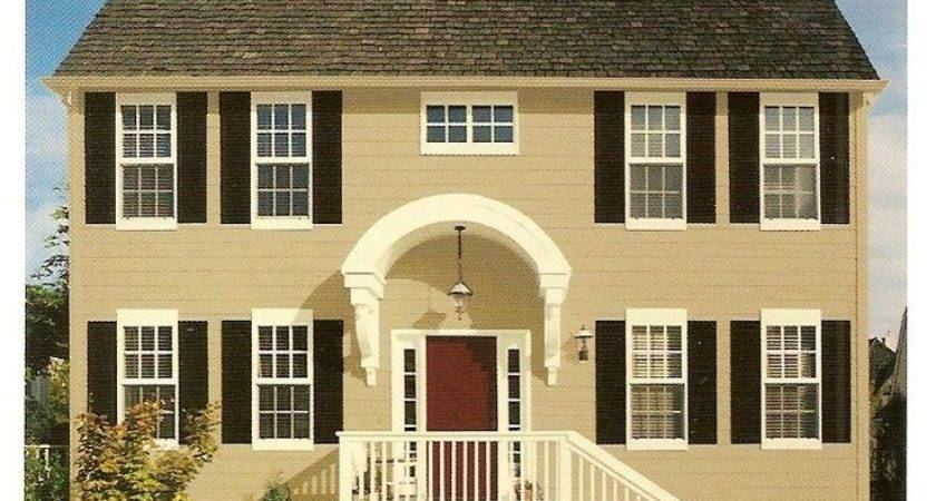 Exterior Paint Color Combinations Butter Cream