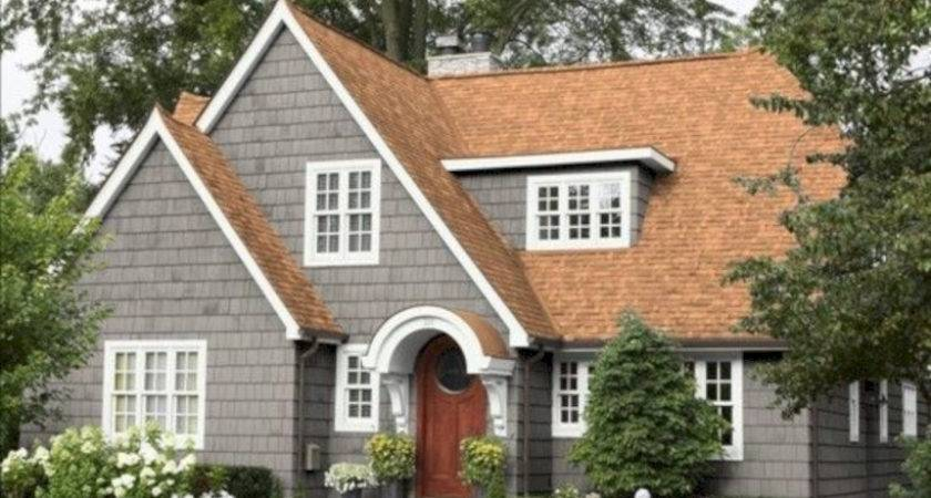 Exterior Paint Colors House Brown Roof