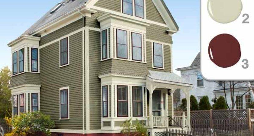 Exterior Paint Schemes Ranch Homes Home Painting Ideas