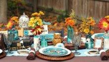 Fall Eclectic Table Setting Ideas Celebrations Home
