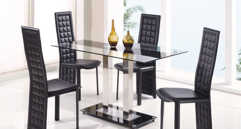 Fascinating Dining Room Sets Sale Modern Glass Top