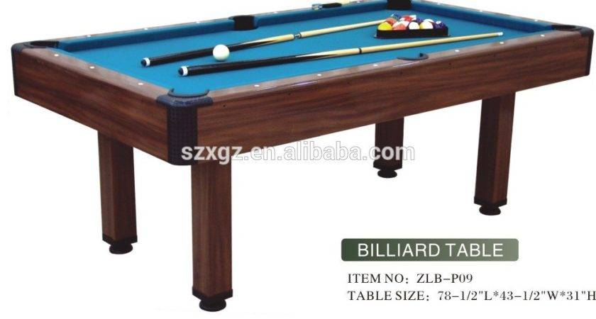 Fashion Mdf Cheap Small Pool Table Wholesale