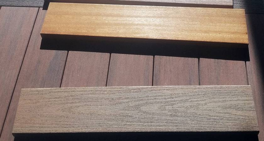 Fashionable Composite Wood Decking Home Ideas