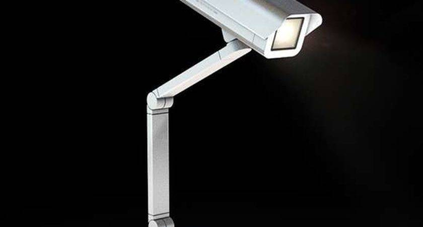 Faux Security Camera Lamps Spoticam Watches While