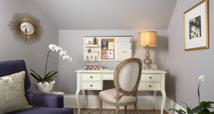 Feminine Home Office Designs Decorating Ideas