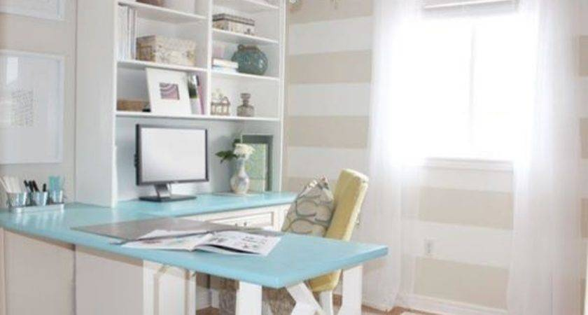 Feminine Style Home Office Decor Advisor