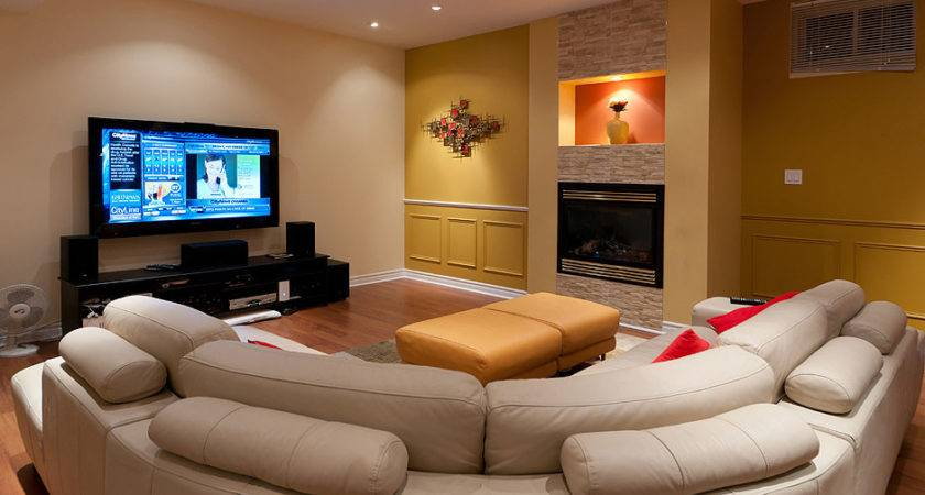 Finished Basement Room Home Touches