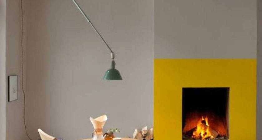 Fireplace Color Ideas Turn Dark Dreary Into