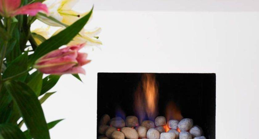 Fireplace Decorating Ideas Gas Logs Electric