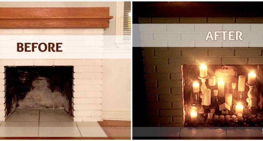 Flameless Candle Fireplace Insert Fireplaces