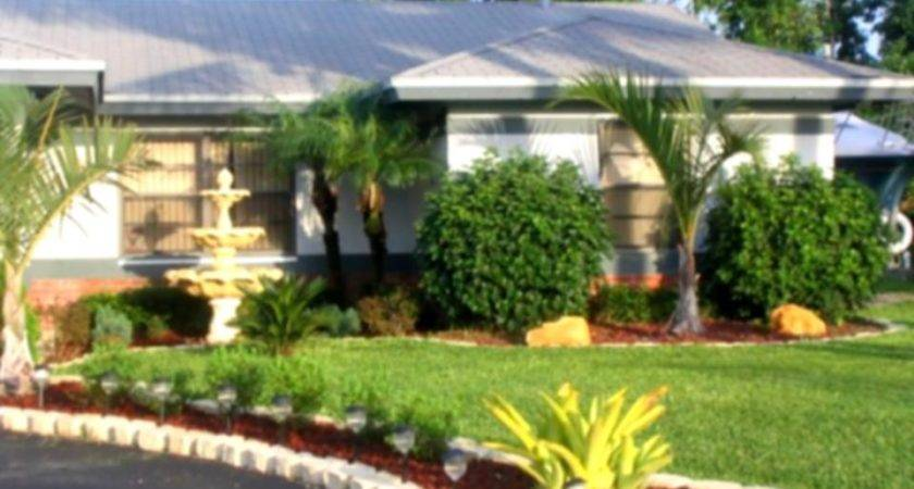 Florida Home Landscaping Ideas Decorating Tips