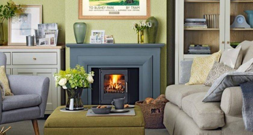Forest Green Living Room Decorating Ideas