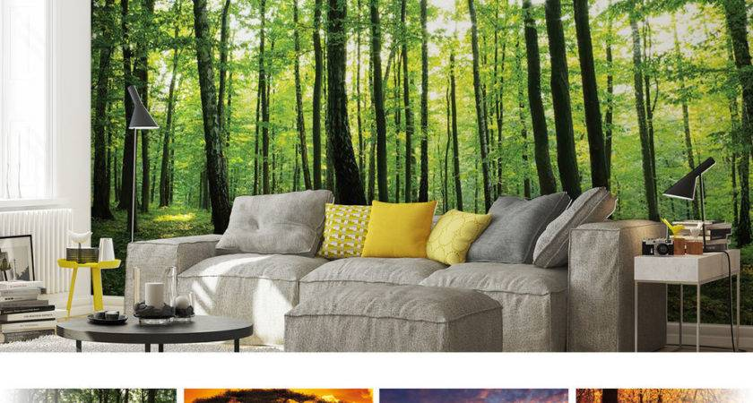 Forests Nature Flowers Mural Ebay