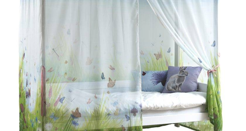 Four Poster Bed Butterfly Love Canopy Kids