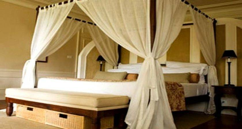 Four Poster Canopy Bed Curtains Curtain Menzilperde