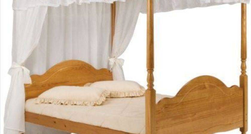 Four Poster Double Bed Frame Ebay